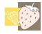 وسام الفراولة الخاص بفعالية بحر الشوكولاة